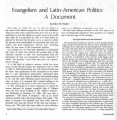 Evangelism and Latin-American...