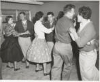 Square Dance After Construction of New Science Building