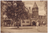 Postcard of Brookside as Saint Francis College